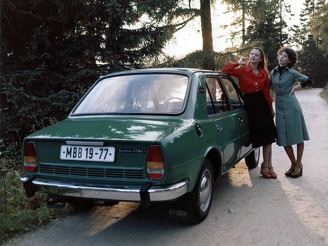 Седан Skoda 120 (кузов Type 742). 1976 год