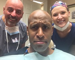 This sh!t just got real....:cold_sweat: haha...special thanks to Dr Izadi for doing an AMAZING job! And his dental assistant was extra cute too!! Lol. Go Panda Go!! #dentist #wtfudge #sonofabiscuit #theAssistantWasCuteThough #lol #lovewhatyoudo #keepit:10
