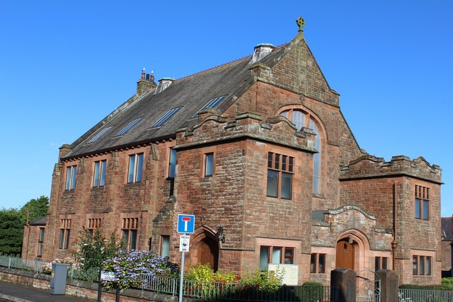 Annan united reformed church, Annan, Scotland (c) Leslie Barrie