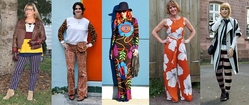Blogger s wearing bold pattern #iwillwearwhatilike