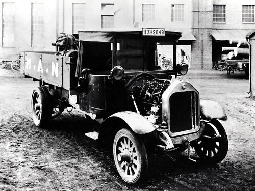 Дизельный грузовик MAN 1920-х годов