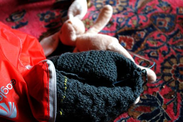 Knitting and Bunhilda - Misericordia