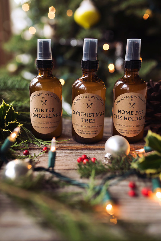 How-to Make Essential Oil Holiday Room Sprays