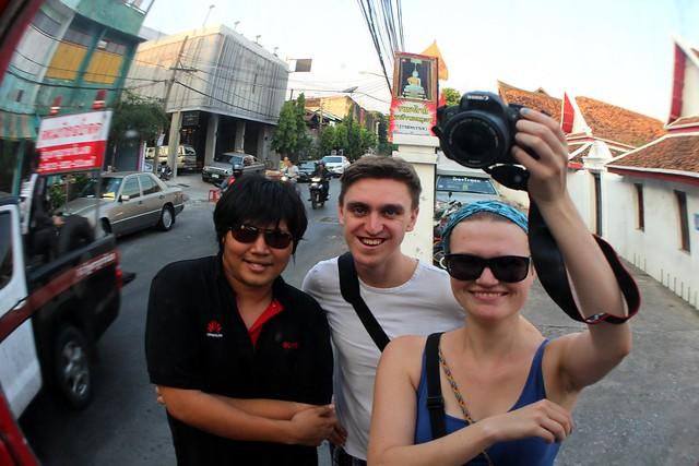 Selfie met Sirriwat
