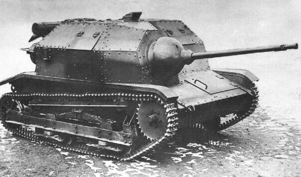 Na tankette TK-3