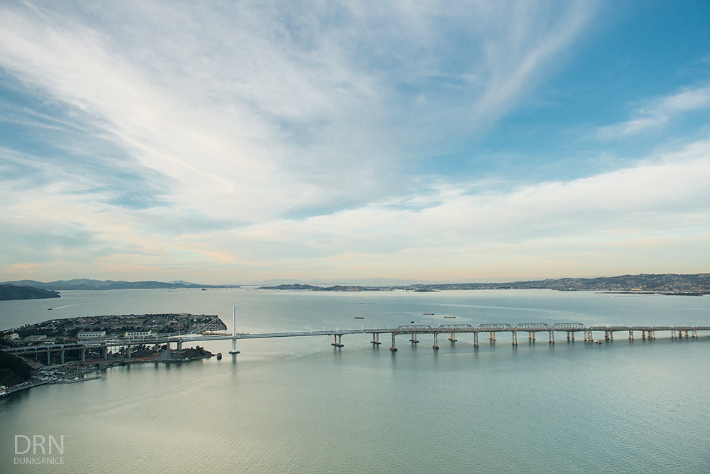 Over SF Bay Area - 12.01.15