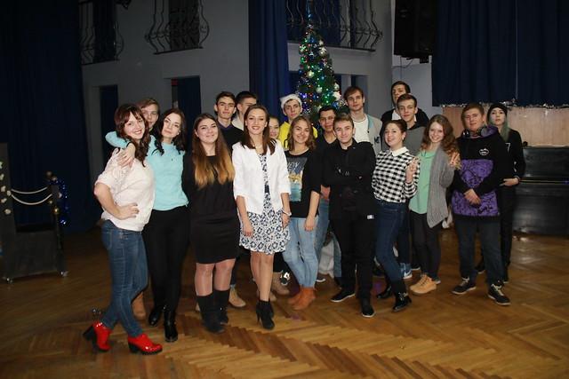 Святкування Нового року активістами студентського самоврядування
