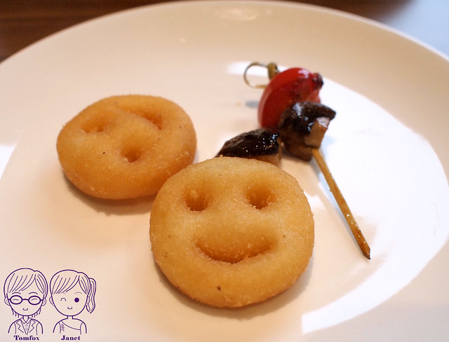 13 藝廊景觀餐廳 笑臉薯餅