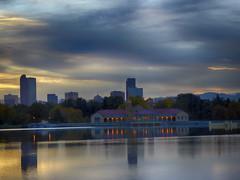 Denver City Park Sunset