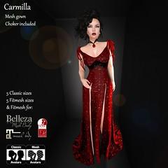 AvaGirl - Carmilla Red