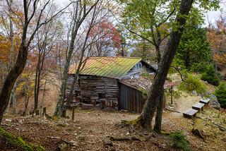 白岩小屋跡