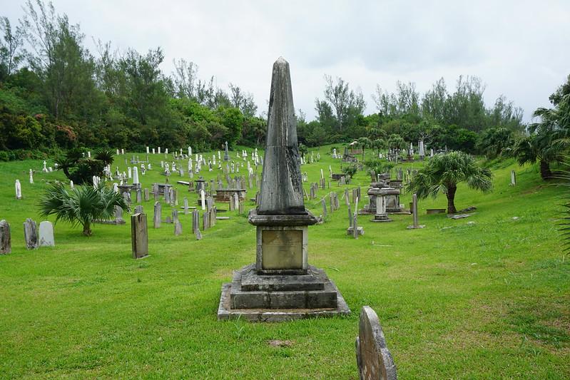 Memorial in the naval cemetery