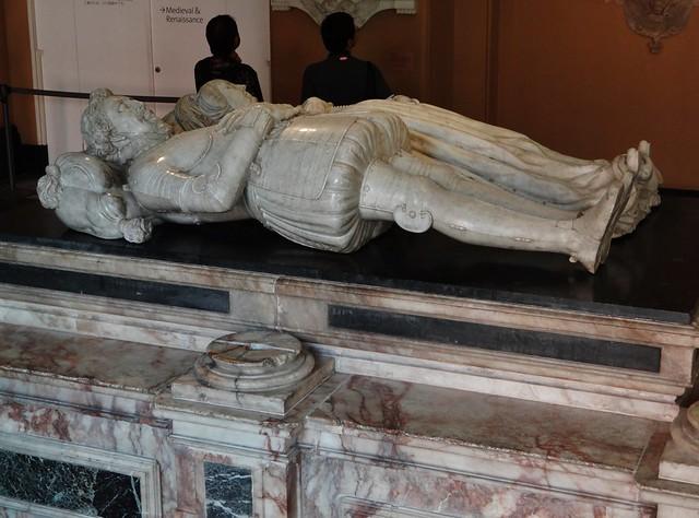 ca. 1615-1618 - 'Sir Moyle Finch (+1614) and Lady Elizabeth (+1634)' (Nicholas Stone), St. Mary's Church, Eastwell, Kent, V&A, London, England