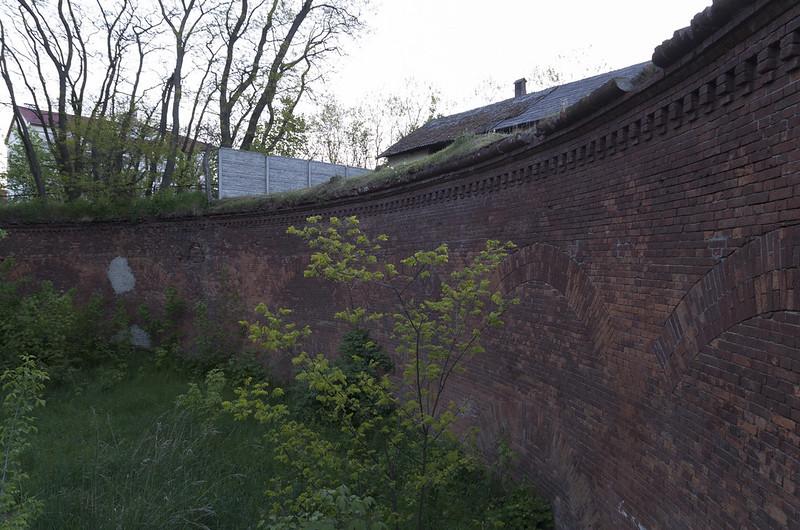 Fort VIII of Brest Fortress, 05.05.2014.