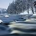 Winter river by kari siren