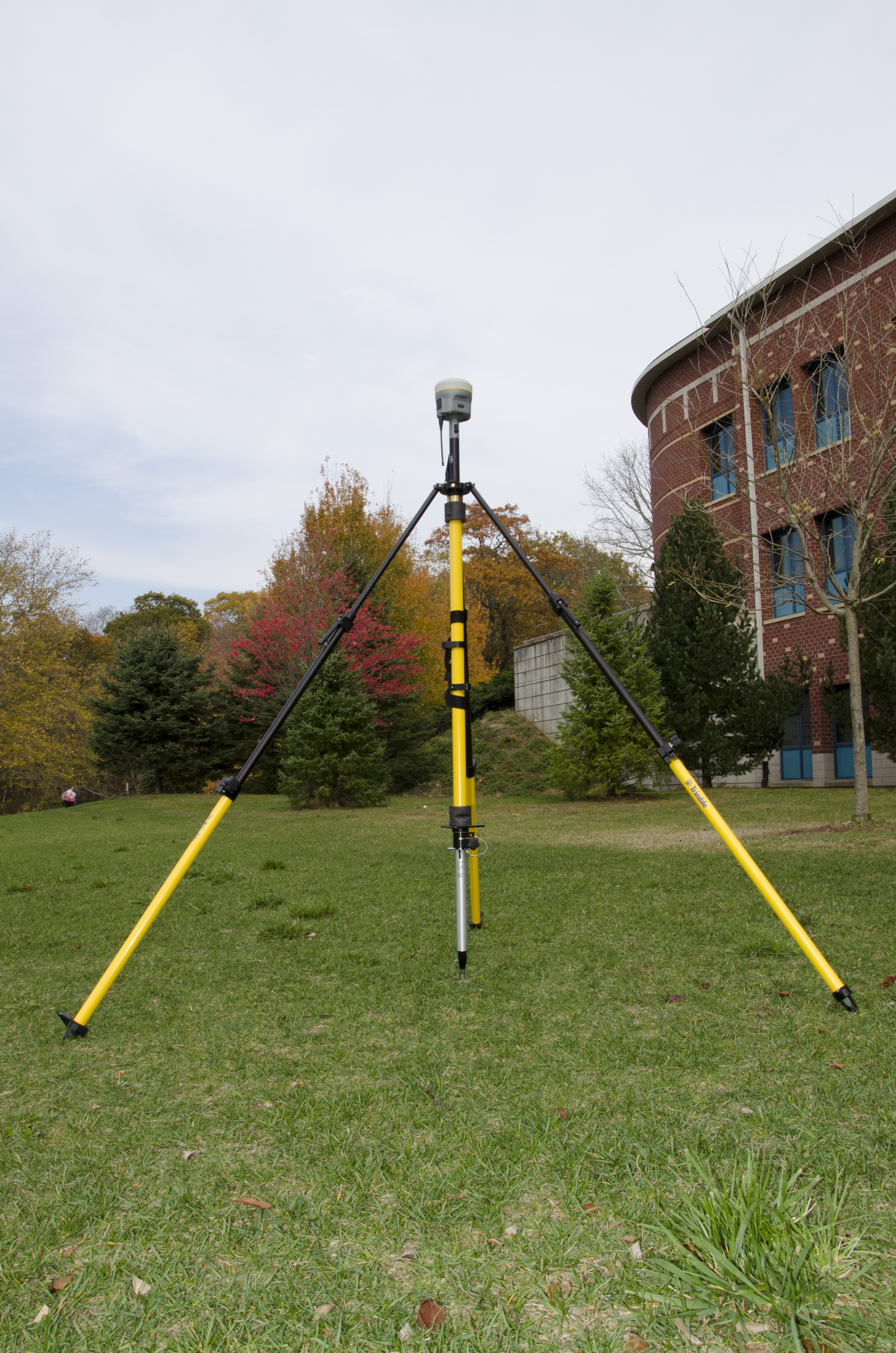 As part of its DOI-funded project, the NPS purchased new survey-grade GPS units to collect high-resolution elevation information on park resources and facilities. NPS photo/E. Nicosia.