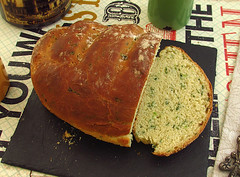 Coriander and garlic bread - Food From Portugal