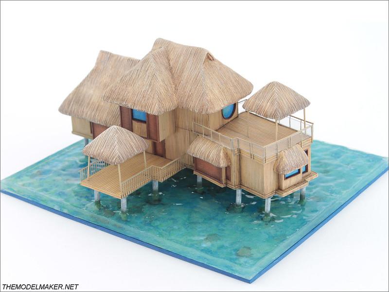 Bora Bora Hilton model 2