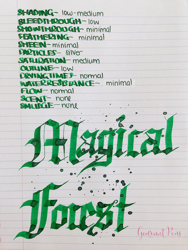 Ink Shot Review Diamine Magical Forest (6)
