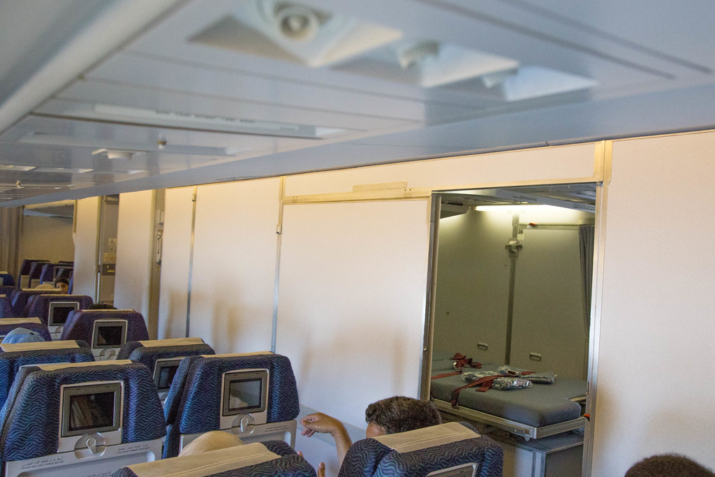 The Operation Room on board the Kuwait Airways Boeing 747