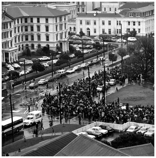 Māori Land March - October 13 1975, Parliament, Wellington
