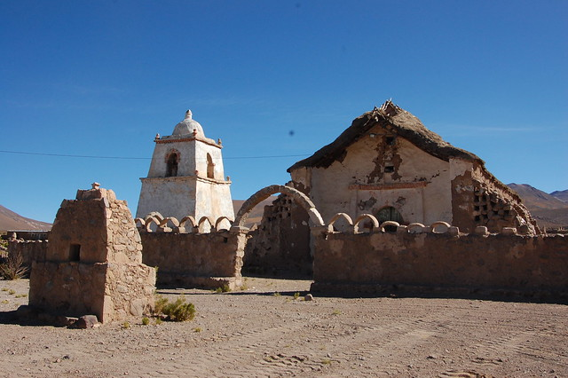Village of Mauque, near Parque Nacional Isluga, Tarapacá, Chile