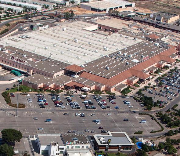Casamassima- una pagina nuova per l'urbanistica casamassimese-Il centro commerciale Auchan