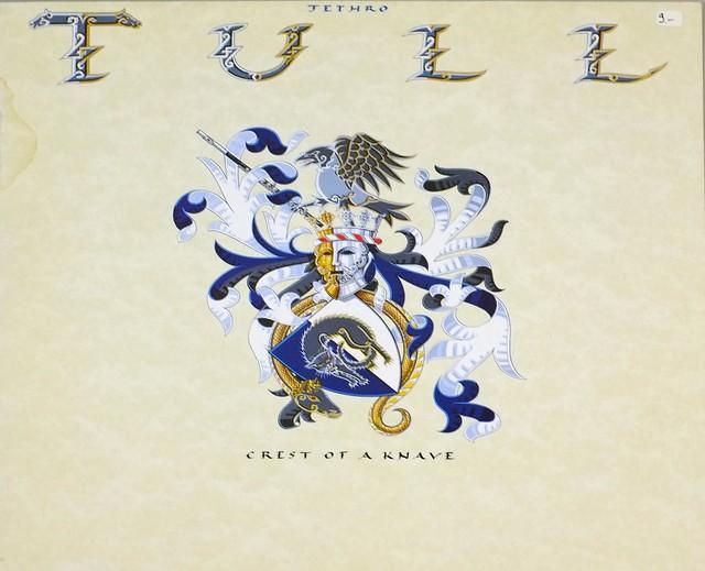 "JETHRO TULL Crest Of A Knave 12"" LP ALBUM VINYL"