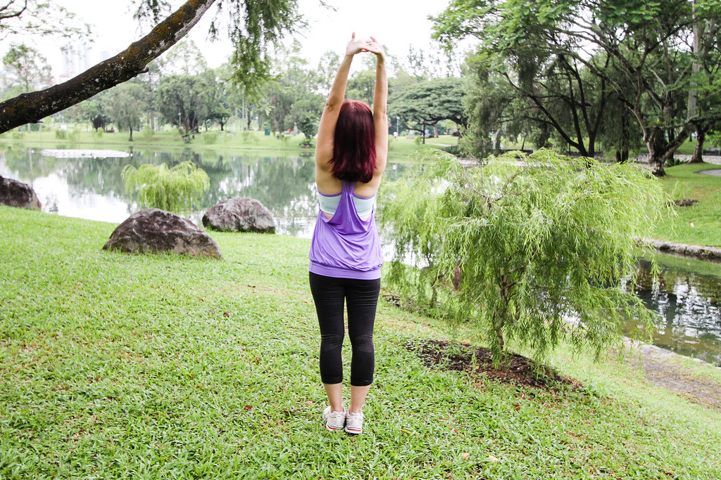 Healthy Lifestyle Festival SG: Maureen Stretching