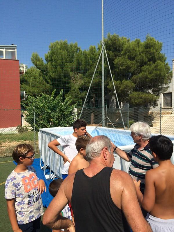 Casamassima-I ragazzi del Semiconvitto Pia Domuns Cristo Re raccontano la gioia per la nuova piscina (3)