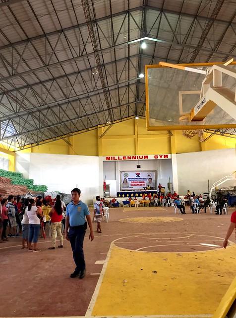 The newly-rehabilitated Leyte Civic Center