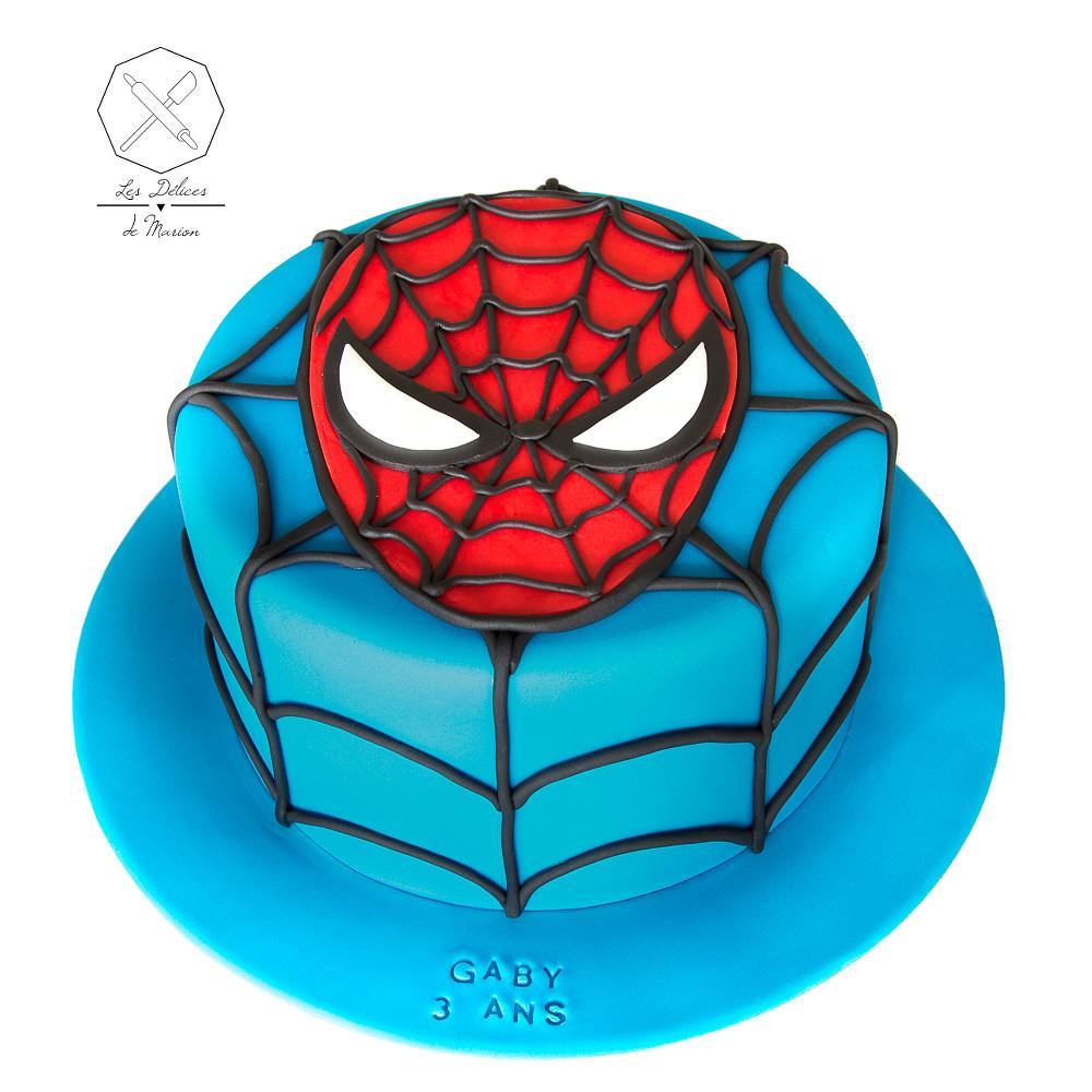 Spiderman Cake Design Delices Marion Gateau Personaliser Flickr