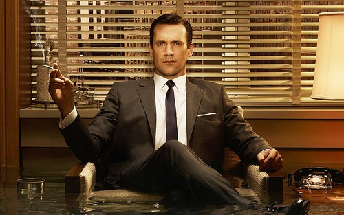 Don Draper crossed legs