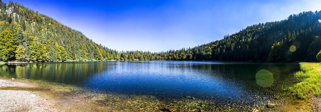 Panorámica del Lago Feldsee