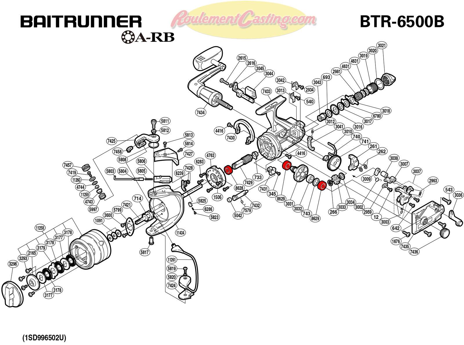 Schema-Shimano-BAITRUNNER-6500B