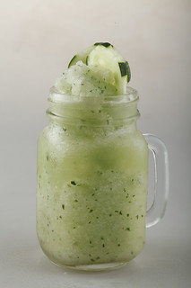 Cucumber, Lemon, and Mint Combo Shake