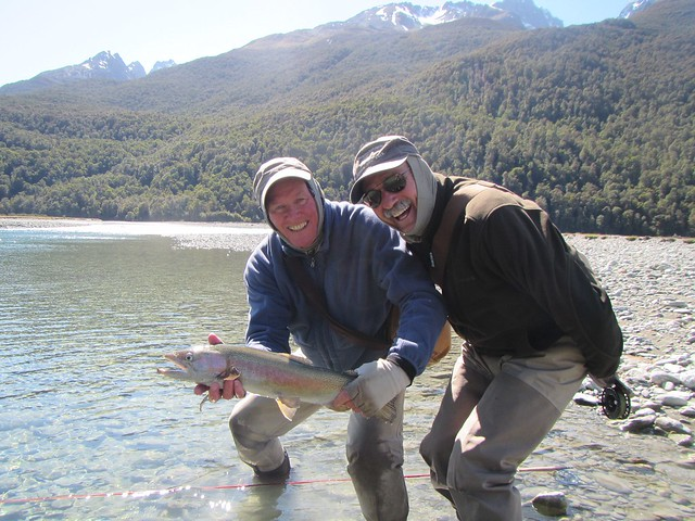 guided fly fishing near wanaka