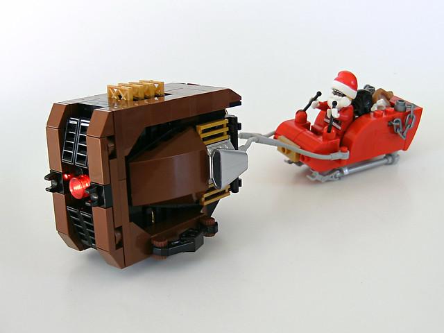 """Santa's """"Little Rudolph"""" Reinspeeder"""