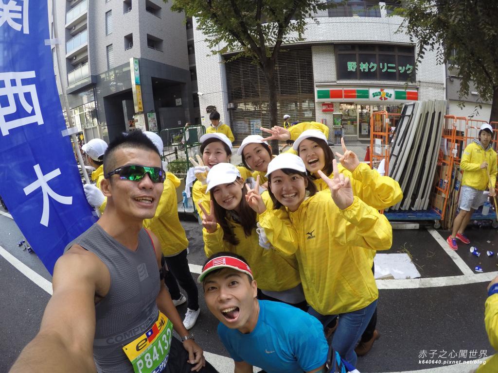 大阪馬拉松-跑步-74