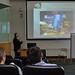 Professor Nebojsa Jaksic explains the cleaning of the 3D printers