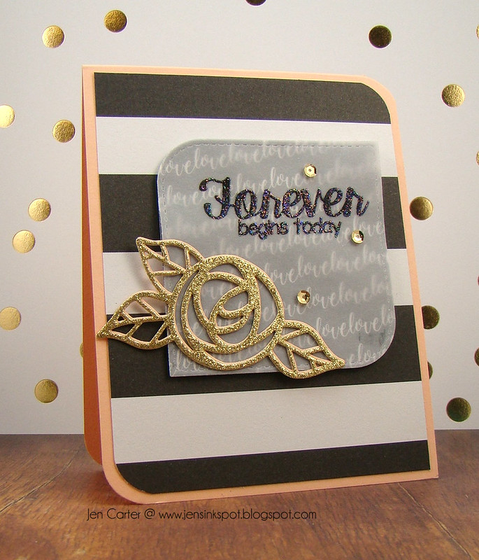 Jen Carter Forever Gold Rose