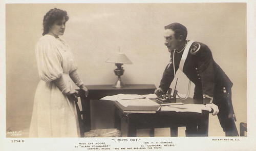 Eva Moore and H.V. Esmond