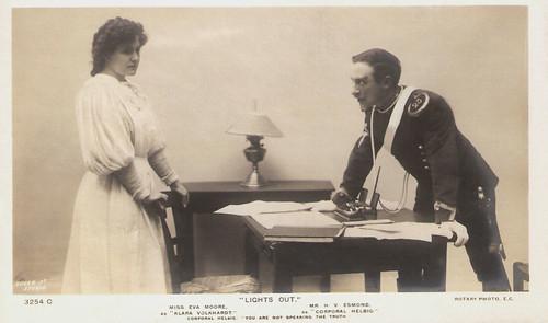 Eva Moore and H.V. Esmond