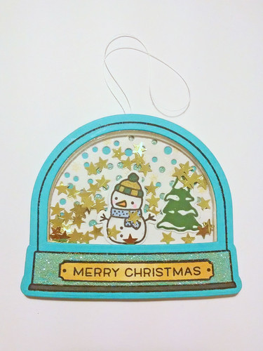 Christmas Tag with Lawn Fawn