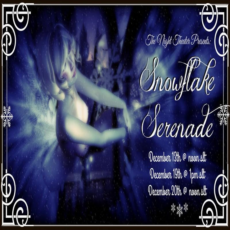 Snowflake Serenade Invite