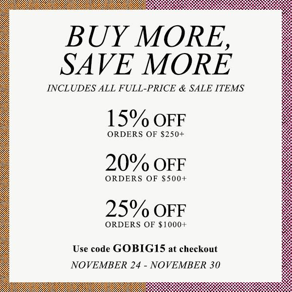 shopbop buy more save more