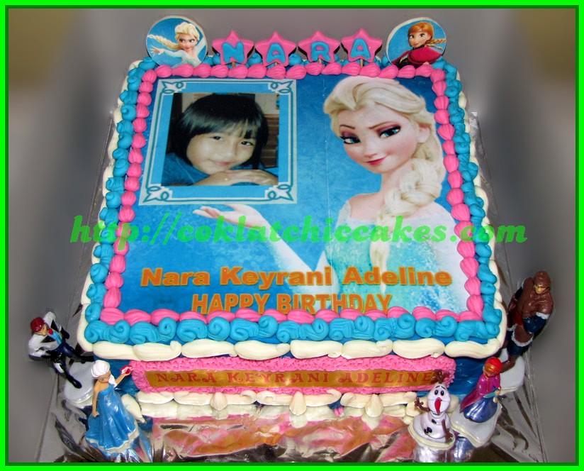Cake Edible Image Frozen