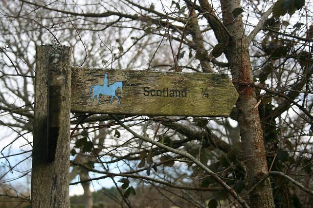 Signpost to Scotland, Norden