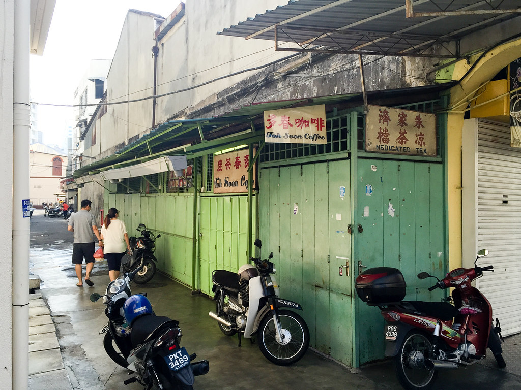 Toh Soon Cafe is located at this alley