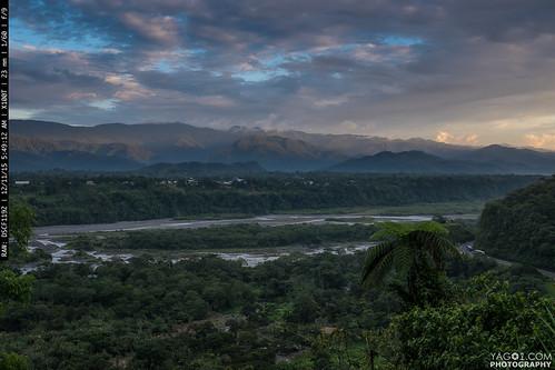 landscape ecuador amazonas macas